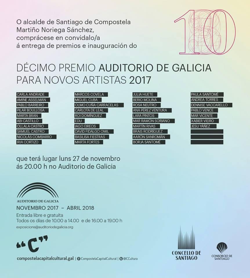 decimo premio auditorio galicia artistas novos